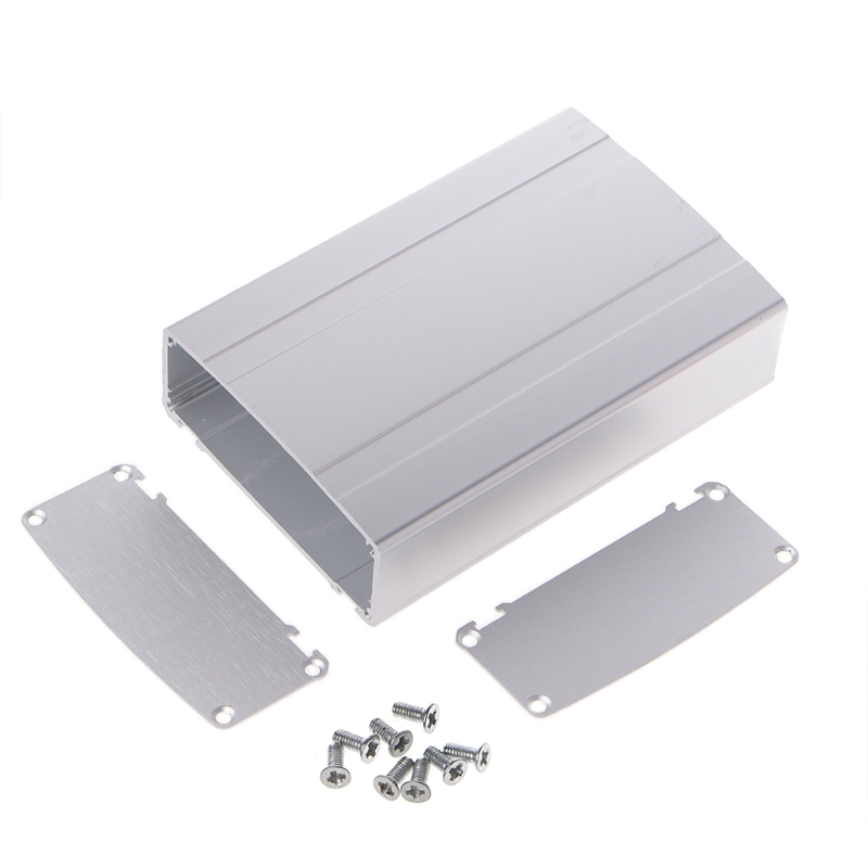 Aluminum Box Enclosure Case Project Electronic For PCB Board DIY 120x80x33mm Dls HOmeful 1 piece 35 65 75mm anodizing electronic aluminum case extrusion enclosure switch box aluminum housing diy distribution box