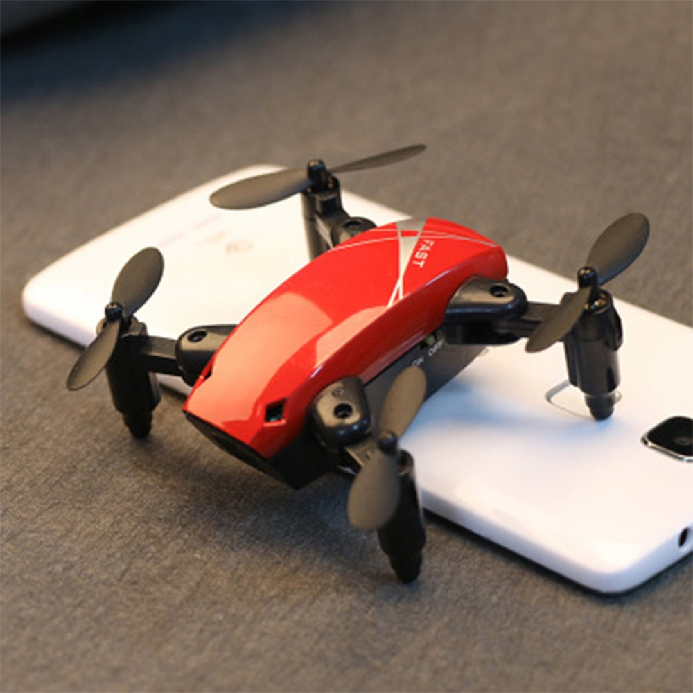 2,4 Ghz Mini plegable Drones RC Drone con cámara 3D Flip una tecla de modo de retorno sin cabeza de altitud FPV WIFI 720 P HD RC Quadcopter