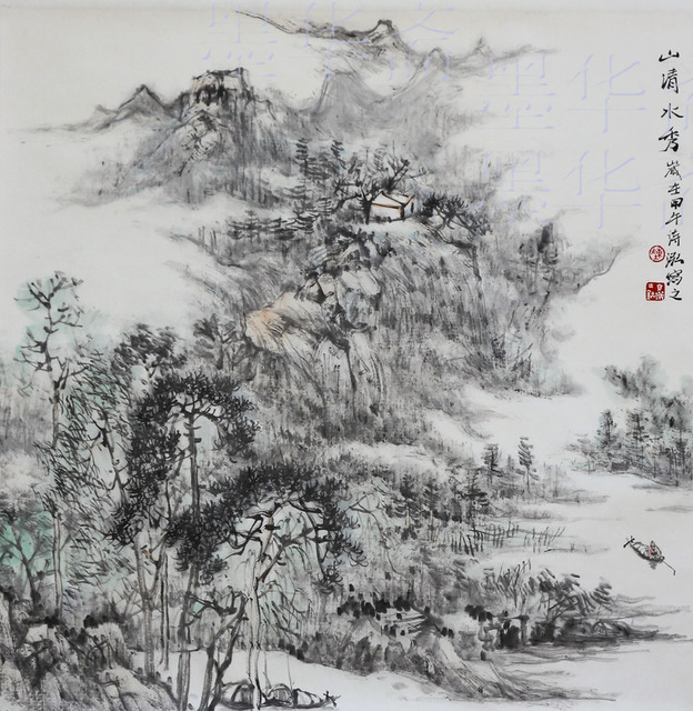 99c728ae0 Original Traditional Chinese painting Asian Chinese Landscape Painting Ink  Brush Rice Paper famous watercolor painting artist