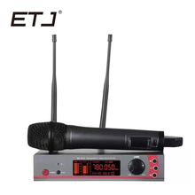ETJ Brand Professional Wireless Microphone System SLX118 True Diversity Double Receiver