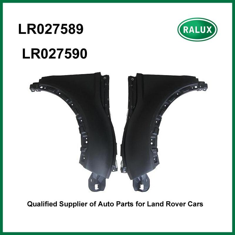 LR027589 & LR027590 New front right and left car fender flare for LR Range Rover Evoque Mudguards auto fender quality parts руководящий насос range rover land rover 4 0 4 6 1999 2002 p38 oem qvb000050