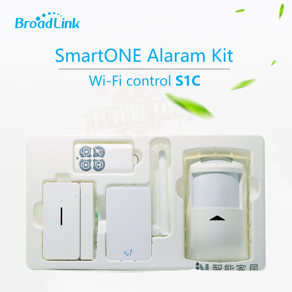 все цены на 2017 Broadlink S1/S1C Alarm Security SmartOne Automation Kits For Connected Smart Home Alarm System IOS Android Remote Control онлайн