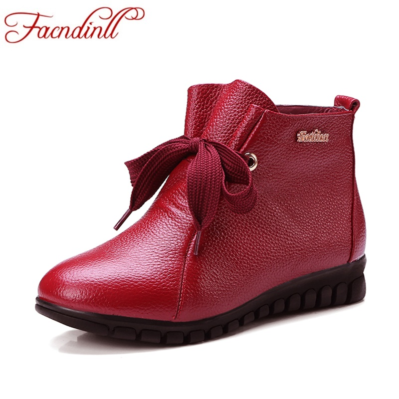 FACNDINLL new fashion women ankle boots shoes autumn winter warm low heels round toe shoes woman black red casual riding boots fashion woman s striped beanies hat 2016 new autumn winter knitted warm wool casual girl cap for woman skullies chapeu feminino