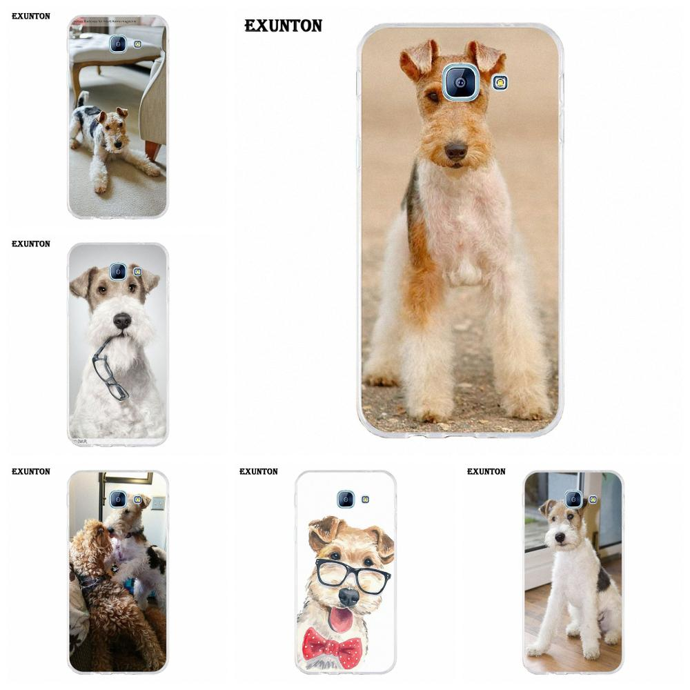 <font><b>Wire</b></font> Fox Terrier With Glasses TPU Capa Coque For Galaxy Alpha <font><b>Core</b></font> Prime Note 2 3 <font><b>4</b></font> 5 S3 S4 S5 S6 S7 S8 mini edge Plus image