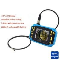 Цифровые Промышленные инспекции Камера эндоскопа od5.5mm гибкие Borescope идеально подходит для канализационных труб инспекции автомобиля диагно
