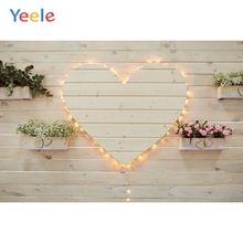 Yeele Wedding Ceremony Light Love Flowers Happiness Photography Backdrops Personalized Photographic Backgrounds For Photo Studio