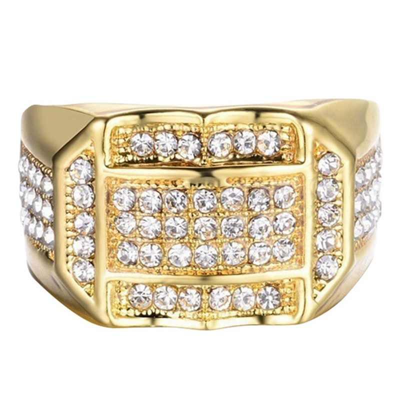 Modyle ผู้ชายคลาสสิกแหวนขายร้อน Vintage Retro โบราณโบราณเงินสแควร์สีขาวเรซิน AAA แหวนหิน