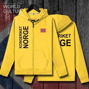 Image 4 - Norvège Norge ni norvégien Nordmann NO hommes fleeces hoodies hiver maillots manteau hommes vestes et vêtements nation pays cardigan