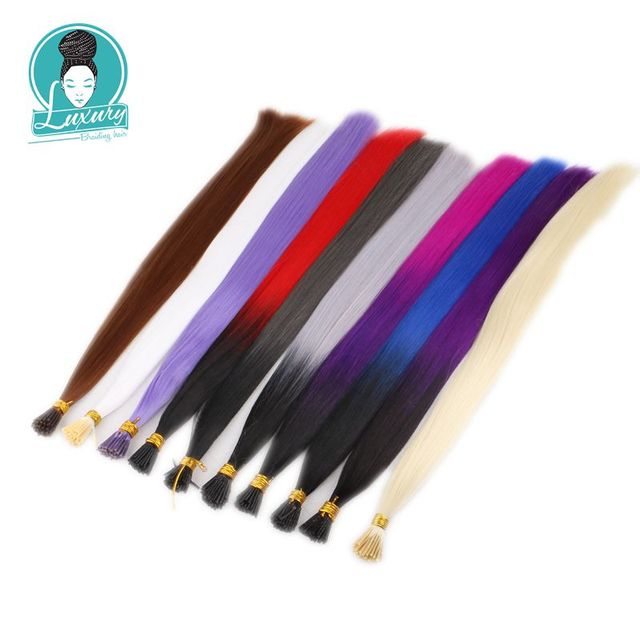 Colored Hair Extensions 2
