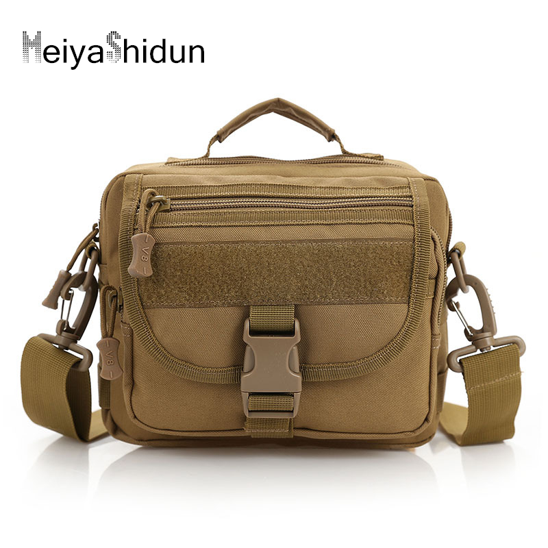 High Quality Men Canvas Bags Casual Military Travel Bolsa Masculina Men Messenger Crossbody Bag for male Molle Shoulder Bag sac