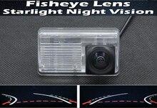 1080P Fisheye Lens Trajectory Tracks Car Rear view Camera for Toyota Corolla Sedan 2007 2008 2009 2010 2011 2012 2013  F3 F3R цена и фото