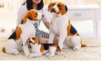 شحن مجاني بيغل الاصطناعي ، مثلما الحقيقي الكلب ، لطيف جميل هدية القطيفة الكلب ، لا فوضى جيد الكلب جميع الأحجام للأطفال الكبار لينة