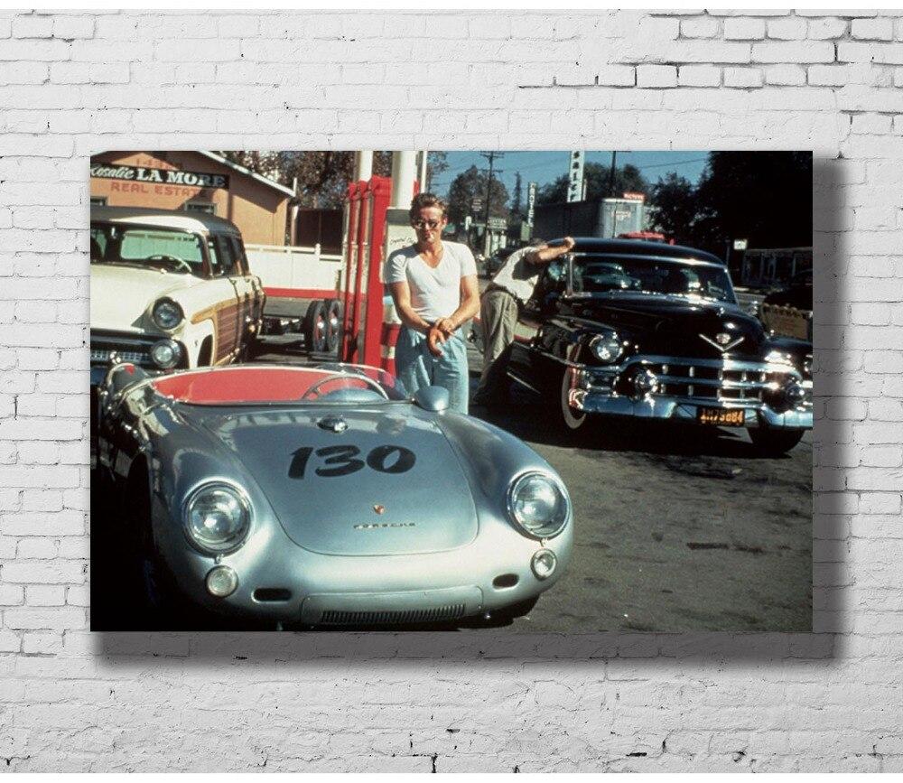 """JAMES DEAN portrait actor model Vintage Print Poster  Large 36/"""" x 24/"""" photo"""