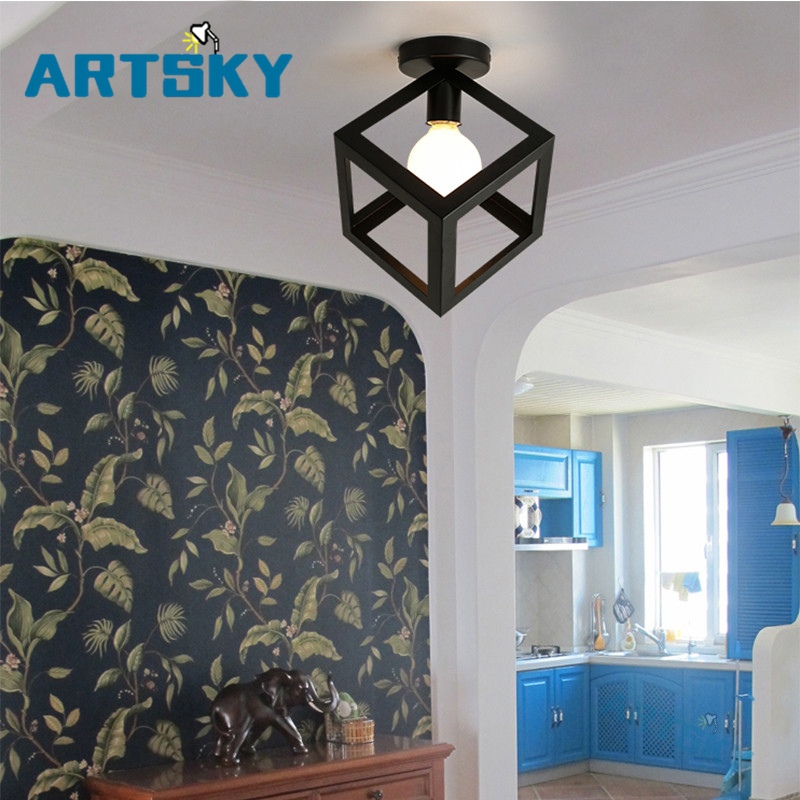 American Style Modern Minimalist Ceiling Lights Living Room Bedroom Stairs Corridor Lamp Aisle Balcony Lamps