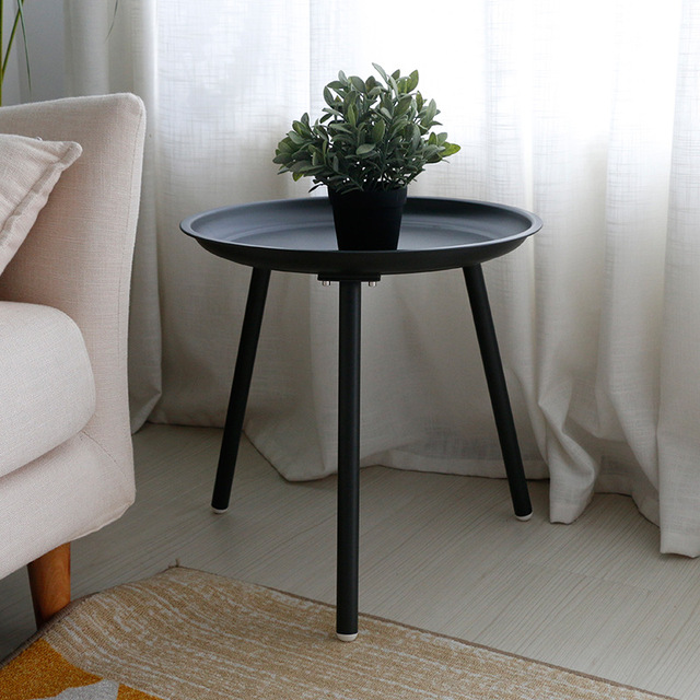 Simple Table Living Room Sofa Side Nordic Wrought Iron Coffee Table