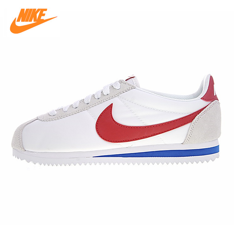 Nike Classic Cortez Men's and Women's Running Shoes,Outdoor Sneakers Shoes,White ,Non-slip Lightweight Wear-resistant 354698 161 стоимость
