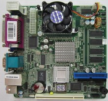 15 Motherboard With 256M Memory CPU With CF Card 4COM POS MINI-ITX Motherboard