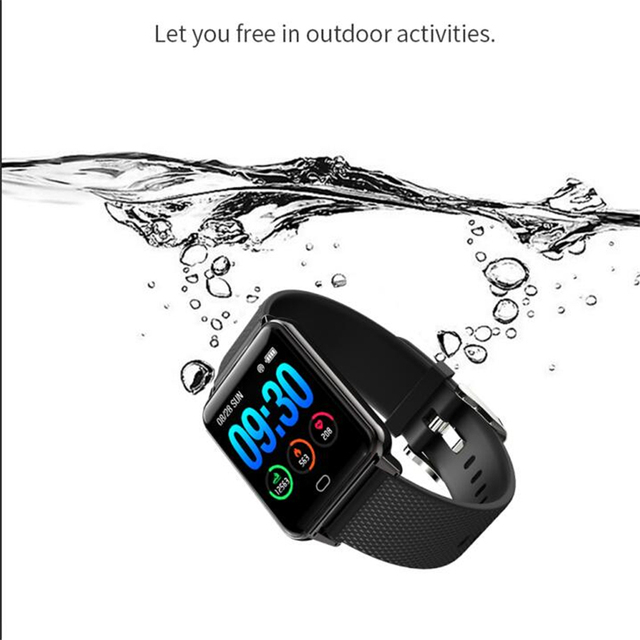 M21 Fitness Tracker Smart Bracelet Sports Watch Heart Rate Blood Pressure Monitoring Bluetooth Call GPS With Breathing Light