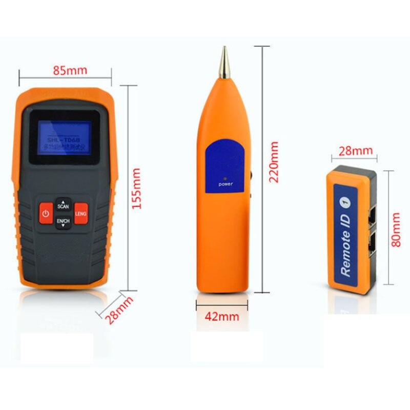 Analyseurs de réseau multifonctionnels RJ11 fil téléphonique fil USB testeur de câble réseau détecteur de disjoncteur détecter traqueur de fil