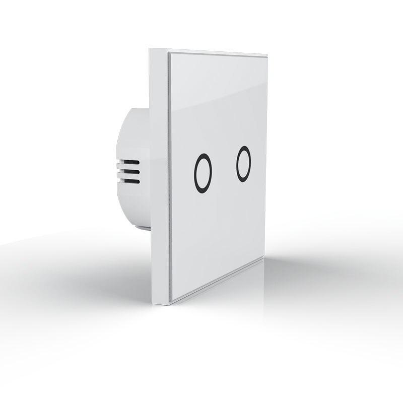 L'UE Version z-vague Mur Interrupteur Capteur Maison Intelligente Z vague mode de Fonctionnement tactile-sensible