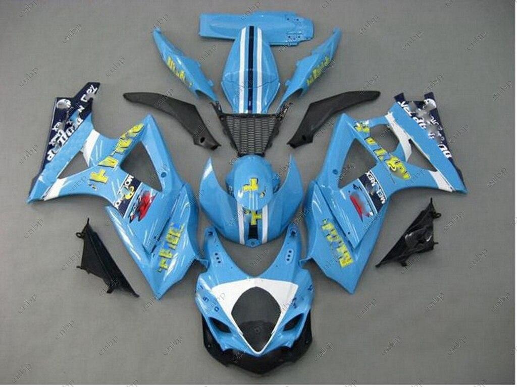Fairings GSXR 1000 07 Abs Fairing GSX R1000 08 2007 - 2008 K7 rizla Fairing Kits for Suzuki GSXR1000 07