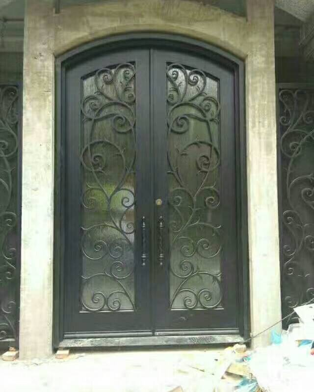 Hench 100% Steel Metal Iron Abby Iron Doors Price