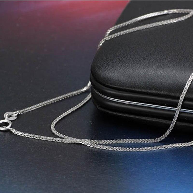Puro oro amarillo collar deseado gran trigo enlace cadena collar 1 pieces4 Color 1,5 2,1g A01-in Collares de cadena from Joyería y accesorios    3