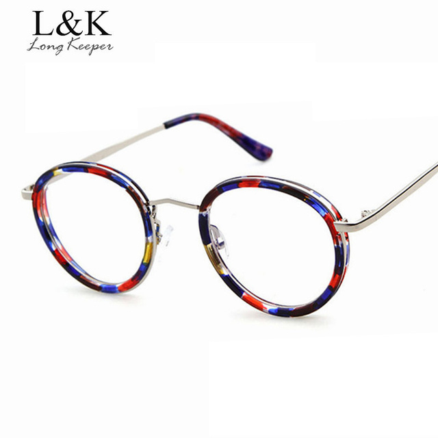 90f6c326b45 Long keeper 2019 Most Popular Leopard Design Women Eyewares Optical Glasses  Frame Eyeglasses Clear Lens Glasses