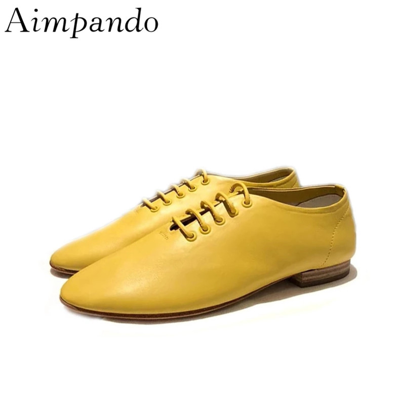 Candy Color Loafers Cross-tied Casual Shoes Woman Quality Leather Fashion Seasonal Flat Shoes Zapatos Mujer simple men s casual shoes with criss cross and color block design