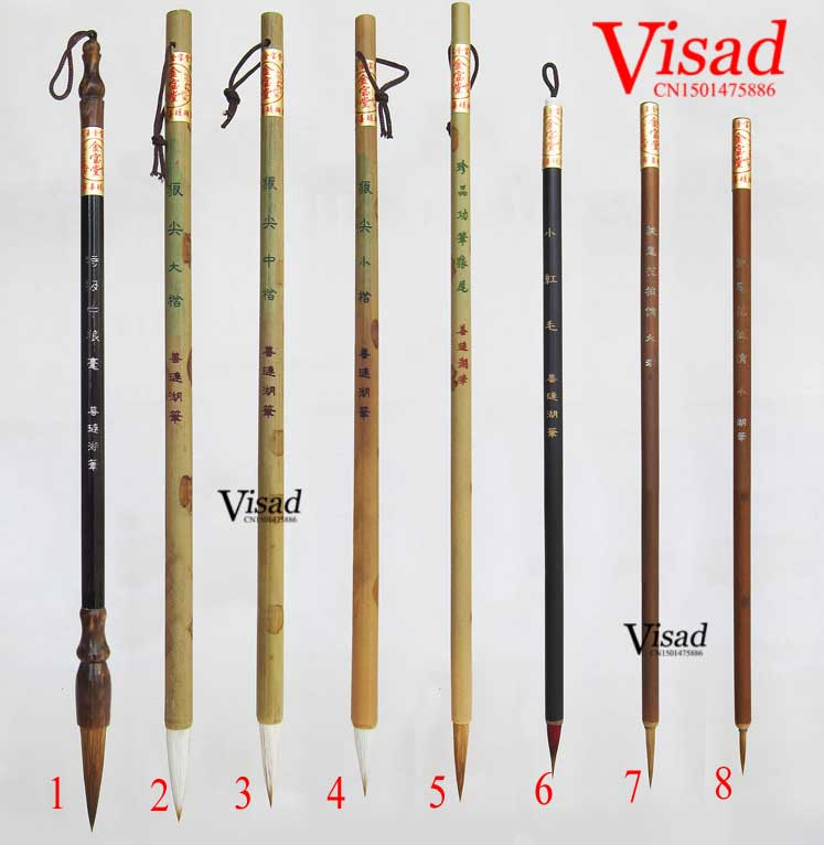 9 pcs/pack Chinese Painting Brush Pen Set Painting Supplies Watercolor Brush Stationary with pen curtain
