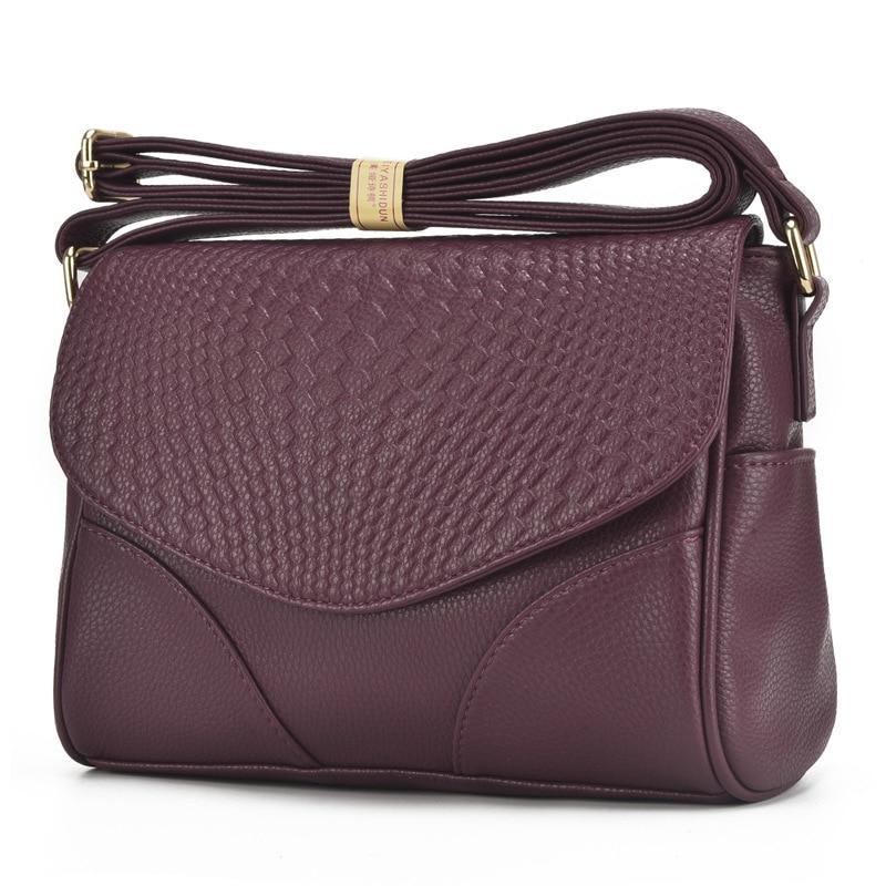 High Quality Fashion Women Messenger Bags Genuine Leather Cowhide Women Small Bag Ladies Handbags Female Crossbody Shoulder Bags bag backpack bag hangbag cartoon - AliExpress