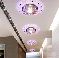 HOT Led Ceiling Light Dia 3W AC200 240V White Warm White Indoor Bedroom Kitchen Lamps