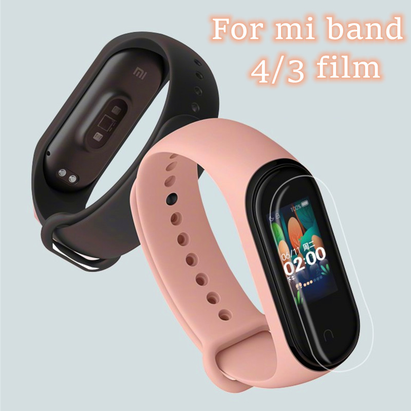 Mi Band 4  5pcs 2pcs 1pcs Screen Film Protective Film Protector For Xiaomi Mi Band 3 4 Anti Scratch Mi Band4 3 Bracelet Miband 4