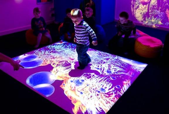 Attractive DefiLabs Defi Interactive Floor Projection For Event Display And Exhibition