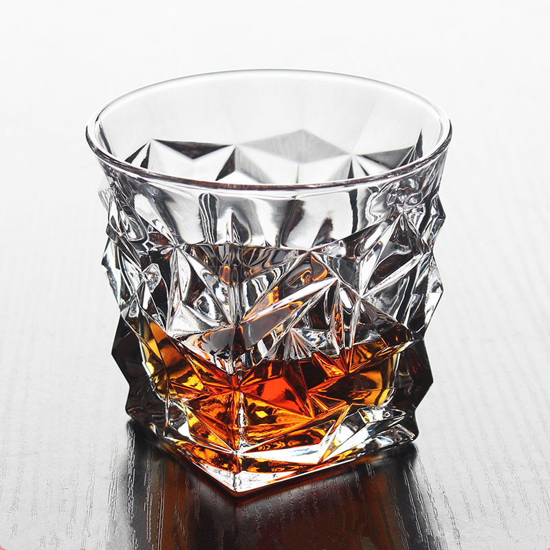 1pc Crystal Glass of Whisky Drink Cup Wine Brandy Beer Wine Glass cup Barware Water Cup Leisure Drinkware