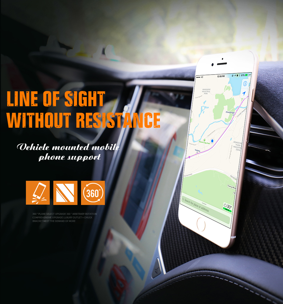 viewable gps without resistance