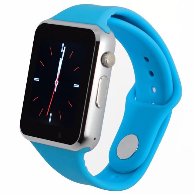 A1 Smart Watch Наручные Часы Для Xiaomi Huawei Телефон Android Смартфон Мягкий силиконовый ремешок Мужчины женщины часы whatsapp PK GT08 DZ09