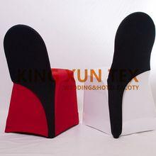Черные чехлы на кресла стрейч кепки Банкетный чехол для свадебного стула украшение для мероприятия вечеринки отель