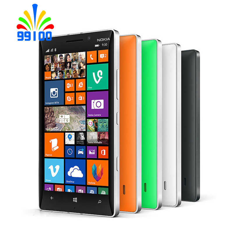 סמארטפון נוקיה Lumia 930 Quad Core 5.0 אינץ 2 GB RAM 32 GB ROM 20.0MP מצלמה LTE Windows טלפון