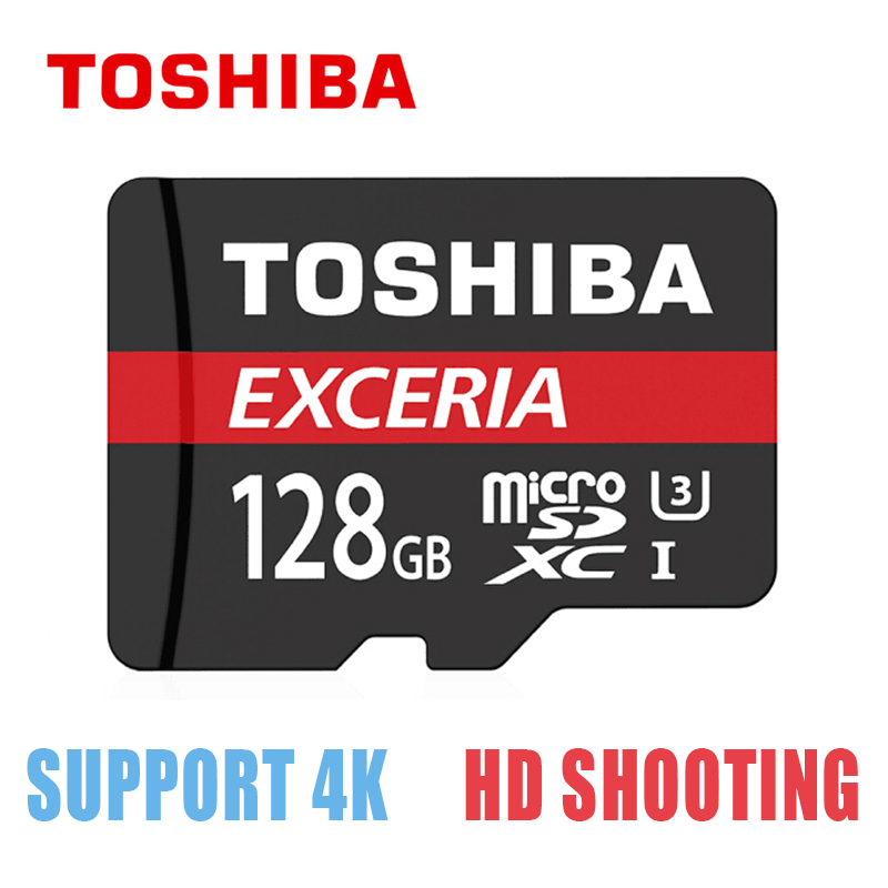 Original TOSHIBA Micro SD Memory Card 128GB TF Card Class10 U3 Mini SD Card Max 90M/s Micro sd for Smartphone / Tablet PC ssk scrm 060 multi in one usb 2 0 card reader for sd ms micro sd tf white
