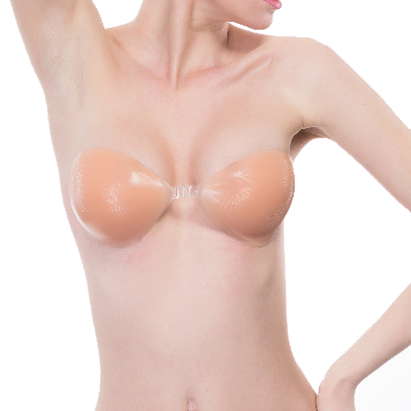 Silicone Bra Invisible Push Up Sexy Strapless Bra Stealth Adhesive Backless Breast Enhancer For Women Lady Soutien Gorge