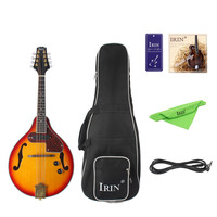 IRIN 8 String Electric Mandolin A Style Rosewood Fingerboard Adjustable String Instrument with Cable Strings Cleaning Clo