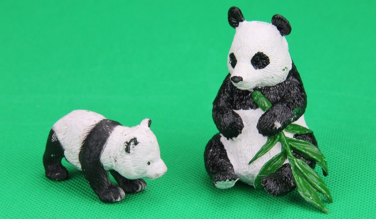 Panda-Toys Action-Figures-Model Collection-Doll-Gift Animal Plastic Girls Kids PVC Hobby