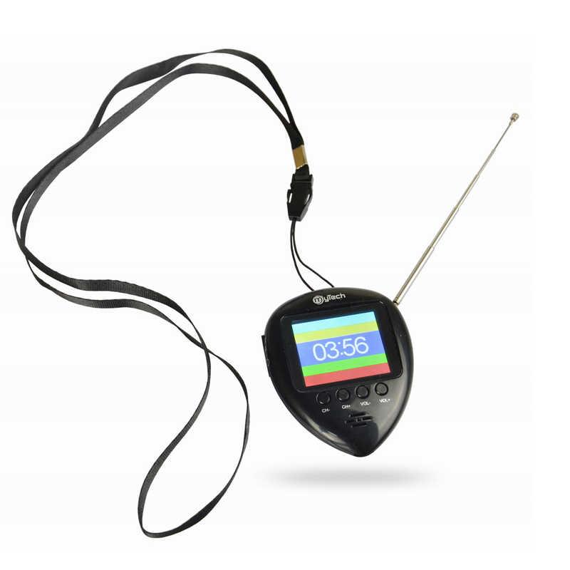 1.8 Cm Kolam Saku Mini FM Radio dengan TV Analog dan Fungsi (Ini Bukan Digital TV)