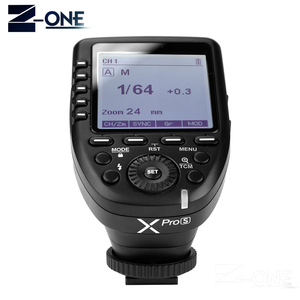 Image 2 - In Stock Godox Xpro S TTL II 2.4G X System Wireless Control Remote Trigger with X1R S Controller Receiver for Sony Flash