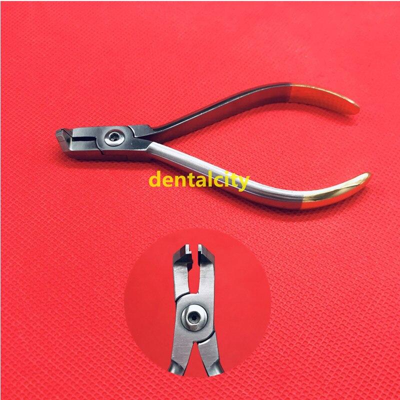 1PCS Dental Orthodontic Forceps End Cutting Pliers Cut Arch Wire Orthodontic Tools Dental Forceps