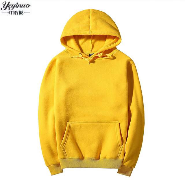 YEYINUO Fashion brand Men 2017 autumn Mens Hoodies Sweatshirts Cotton Casual Male Hooded The high quality Free shipping