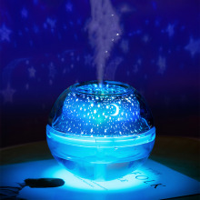 Ball Humidifier with Aroma Lamp Essential Oil Ultrasonic Electric Diffuser Mini USB Air Fogger 500ML