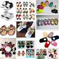 58colors new designs Genuine Cow Leather Baby Moccasins shoes bow Soft Moccs girls bebe Shoes Newborn Baby firstwalker Anti-slip