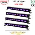 Litewinsune 4 шт. 9*3 Вт Светодиодная УФ-лампа для мытья 27 Вт ультрафиолетовая Вечеринка флуоресцентная Вечеринка бар фиолетовая шайба освещение LED